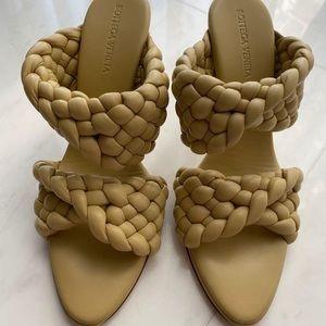 Bottega Veneta Daniel Lee twist sandals size 38.5